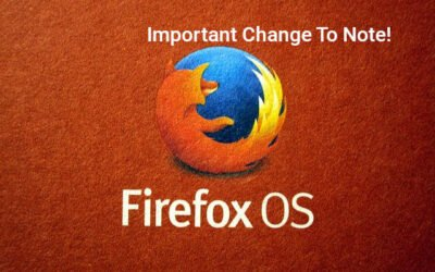 Important Firefox change businesses should note?