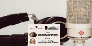Voiceover expert who helps businesses to market online